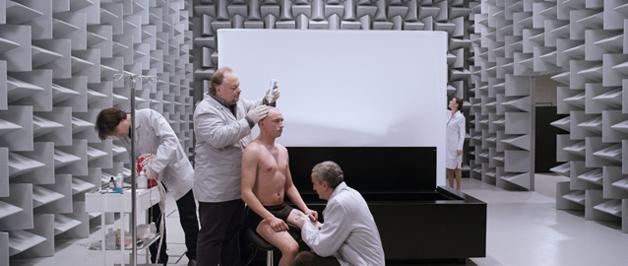 Scena iz filma Vanishing Point redateljice Kristine Buozyte