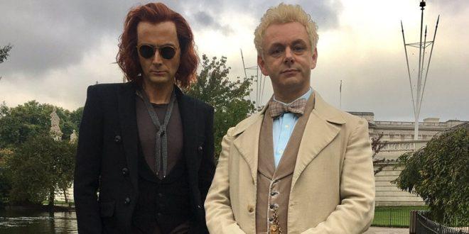 """Prvi pogled na fantastični duo koji predvodi seriju """"Good Omens"""""""