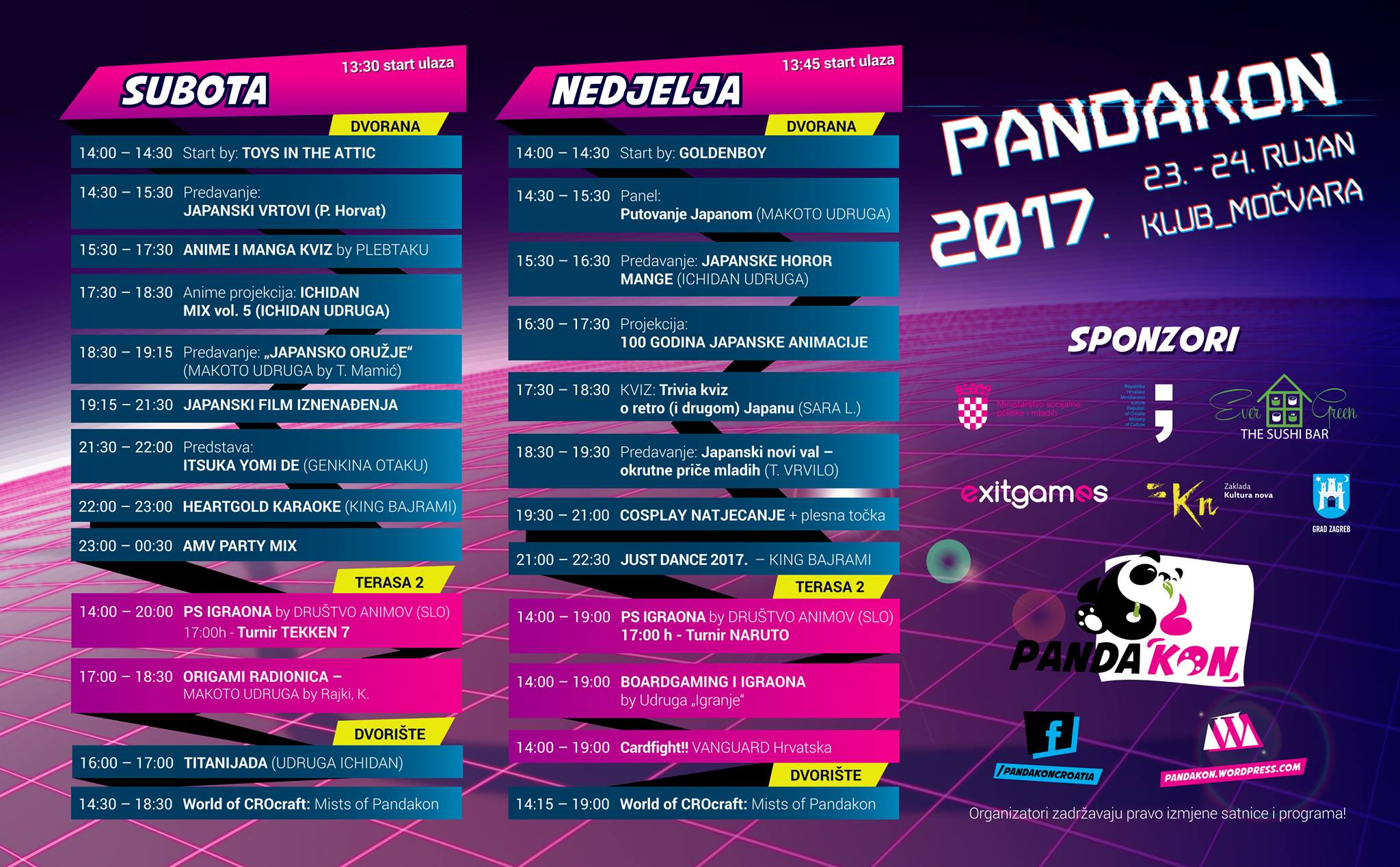 Pandakon 2017.