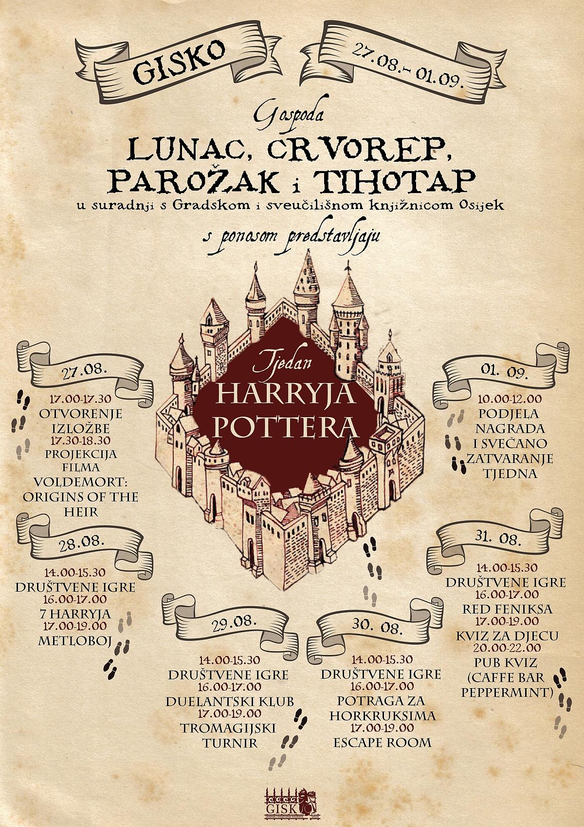 GISKO tjedan Harryja Pottera
