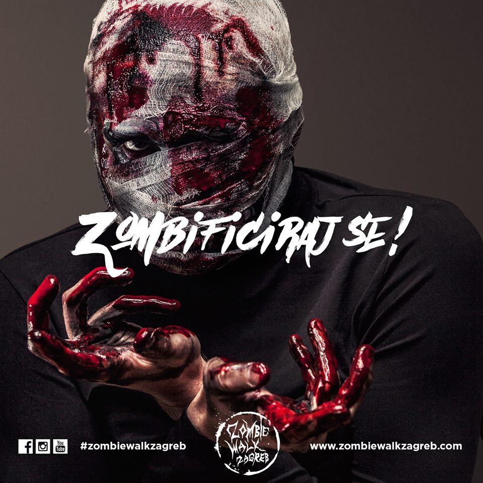 Zombie walk Zagreb