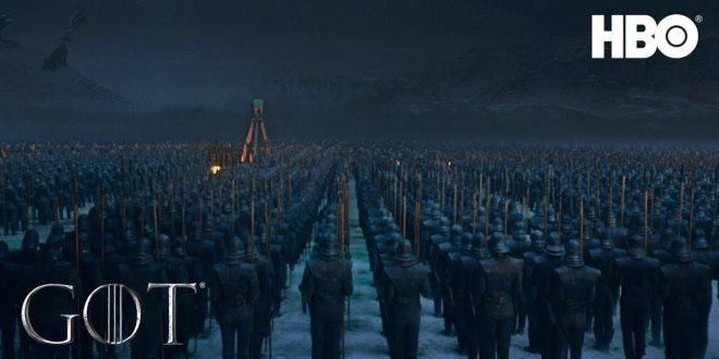 Trailer za 3. epizodu 8. sezone serije Igra prijestolja – mrtvi su već stigli