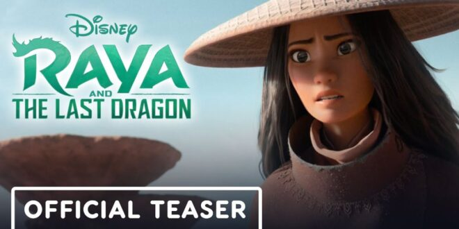 Prvi očaravajući trailer za Disneyjev animirani film Raya and the Last Dragon