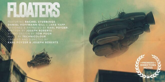 Otkrijte simpatični kratki SF film Floaters