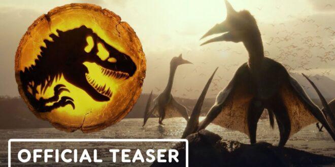 Prvi teaser za Jurassic World: Dominion!